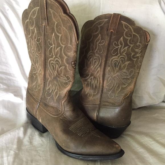 d8345c86c74 Ariat 15729 Heritage Western Boots 9.5B